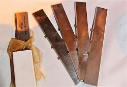 Плоские ножи для цилиндрических барабанов (фрез)