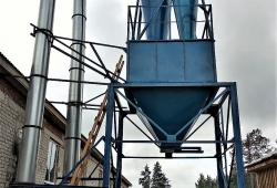 Промышленная циклонная установка СОБСТВЕННОЕ ПРОИЗВОДСТВО В г. ХИМКИ