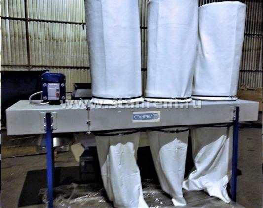 АСПИРАЦИОННАЯ УСТАНОВКА УВП СР-5000  (3 фильтровальных мешка).Производительность - 5000 м3/час.