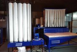 ХИТ ПРОДАЖ! Аспирационная станция с автоматической  регенерацией. K-ASPIR- 6 cо шлифовальным столом. Производительность - 6000 м3/ч.