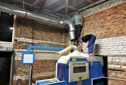 Аспирация внутрицеховая, система воздуховодов (производство в г. Химки)